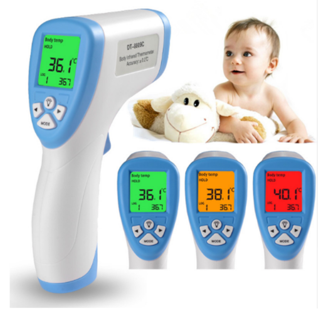 Coronavirus: LCD Display non-contact infrared thermometer For Body C/F Selection Surface Temperature